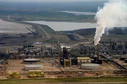 Syncrude processing facility