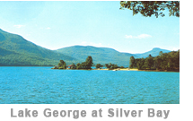 Lake George at Silver Bay