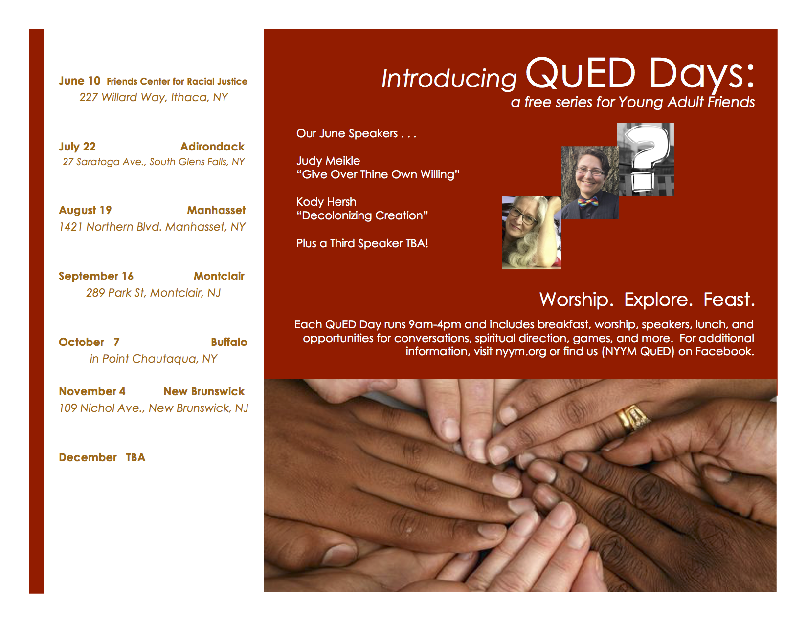 QuED Flyer