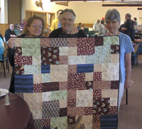 Piecemakers for Peacemakers quilt